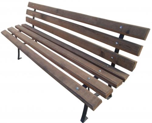 Скамейка парковая 2,0 м со спинкой