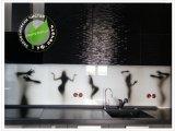Фото  1 Скинали для кухни - силуэт девушки, женское тело. (Скіналі для кухні - сілует жіночої фігури). ударостойкое стекло 6 мм 2099358