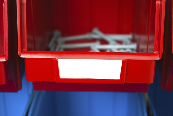 Складской ящик для хранения метизов, крепежа и мелких автозапчастей. Арт.703 (90х100х50), цветной