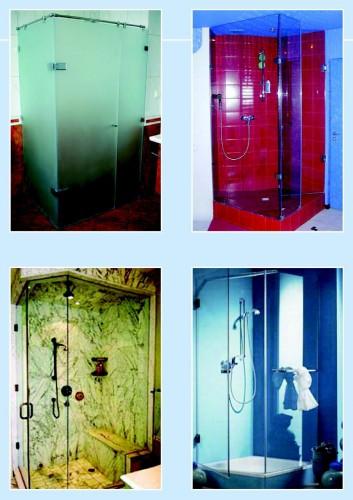 Скляні душові кабіни