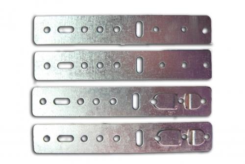 Скоба П-образная FM оцинкованная. Толщина 1 мм