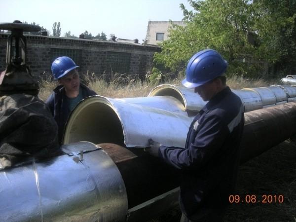 Пенополиуретановые скорлупы для теплоизоляции трубопроводов