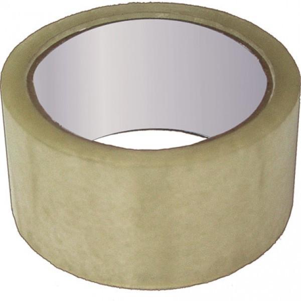 Скотч упаковочный 100*0.040. Прозрачный/ коричневый