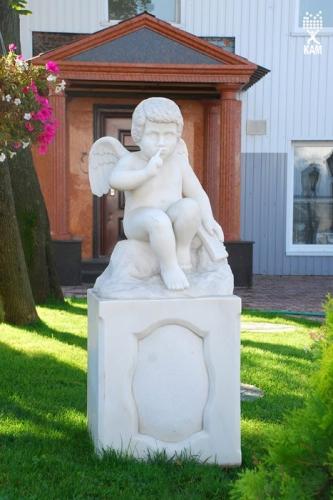 Скульптура из гранита и мрамора Изящно украсит и порадует прочностью и долговечностью