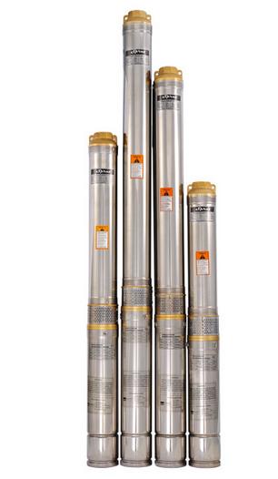 Скважинный насос SPRUT 100QJ 210-0.75 нерж. пульт