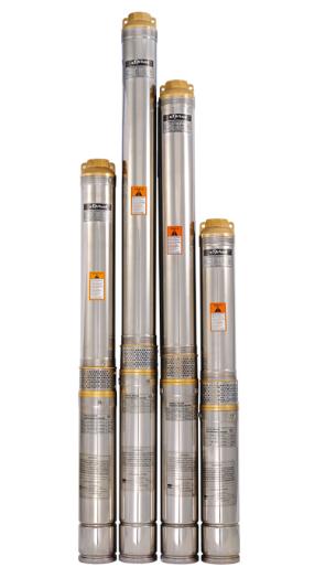 Скважинный насос SPRUT 90QJD 112-0.55 нерж. пульт