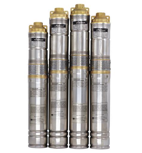 Скважинный насос SPRUT QGDа 1,2-100-0.75kW пульт