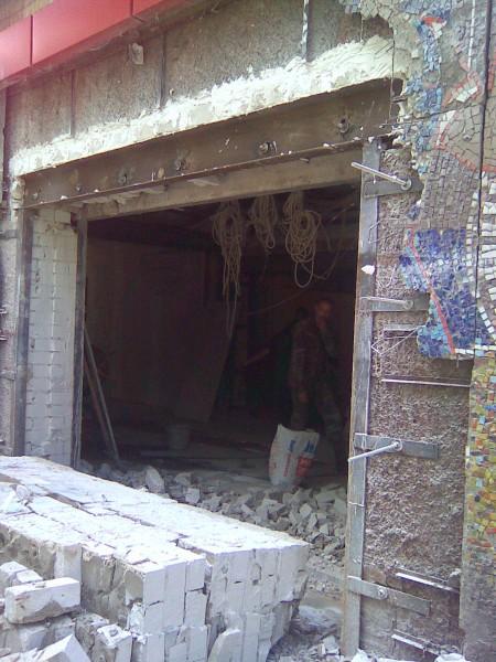 сквозные отверстия разного диаметра (от 30мм-400мм ) в бетоне, кирпиче, природном камне под трубы отопления, канализации