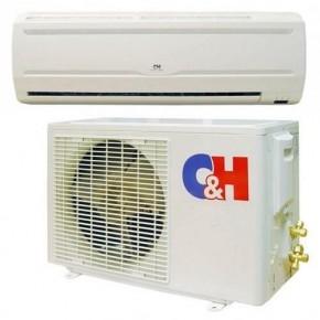 SMART R410, CH-S24LH/R, Озонобезопасный фреон R410. Высокие показатели энергоэффективности.