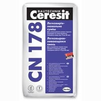 Смесь для устройства стяжки пола Ceresit CN/Церезит СН/ 178