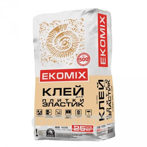 """Смесь EKOMIX """"Клей для плитки Эластик"""" BS 105 (доставка)"""
