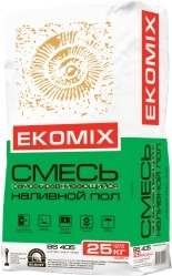 """Смесь EKOMIX """"Самовыравниваю щийся наливной пол"""" BS 405"""