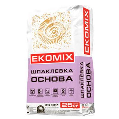 "Смесь EKOMIX ""Шпаклевка Основа"" BS 301 (доставка)"