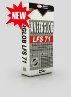 Смесь легковыравнивающаяся ANSERGLOB LFS 71 (10-80 мм) для выравнивания внутри и снаружи, в промышл. строит-ве, Бровары
