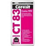 Смесь ППС Ceresit CT 83 (25кг. ) (смесь для приклеивания плит из пенополистирола)