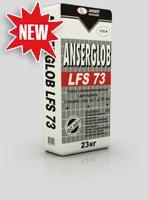 Смесь самовыравнивающаяся ANSERGLOB LFS 73 цементно- гипсовая (5-80 мм), для выравнивания минеральных оснований, Бровары
