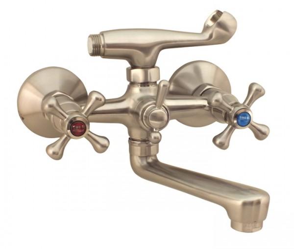 Смеситель CHAMPION 142-SMES НЕРЖАВЕЙКА Тип Смеситель для ванны Материал Латунь Размер 1/2