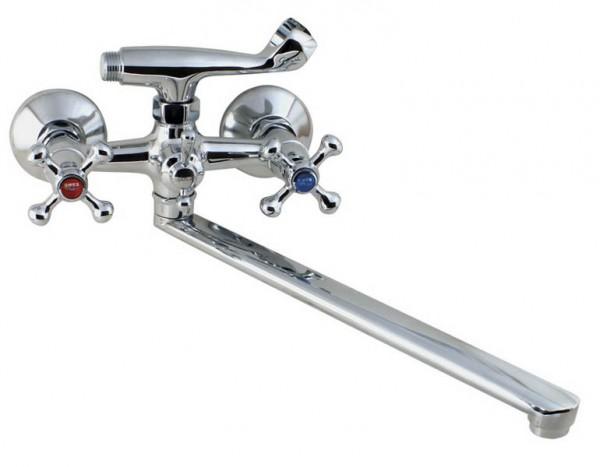 Смеситель CHAMPION 143-SMES Тип Смеситель для ванны Материал Латунь Размер 1/2