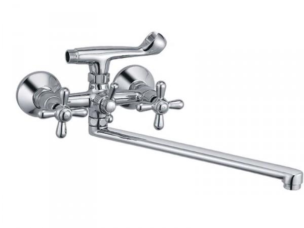 Смеситель HAIBA DOMINOX Chr-143 Тип Смеситель для ванны Материал Латунь Размер 1/2