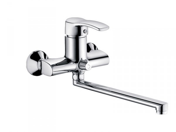 Смеситель HAIBA FOCUS Chr-006 EURO Тип Смеситель для ванны Материал Латунь Размер 40 mm