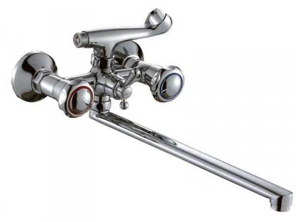 Смеситель HAIBA MEGA Chr-143 Тип Смеситель для ванны Материал Латунь Размер 1/2