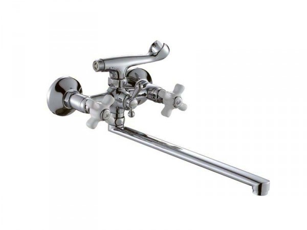 Смеситель HAIBA ODYSSEY Chr-143 Тип Смеситель для ванны Материал Латунь Размер 1/2