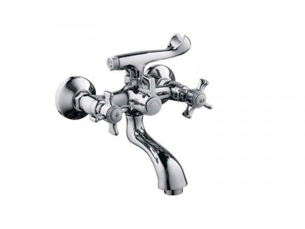 Смеситель HAIBA ZEUS Chr-142 Тип Смеситель для ванны Материал Латунь Размер 1/2