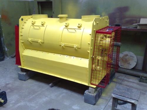 Смеситель сухих смесей ССС-0,5-1,5 куб. м.