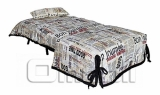 SMS диван Ткань газета A32264