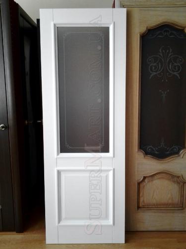 Снежно белые двери