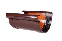 Соединитель желоба, водосток Профил, ПВХ, система 130/100мм