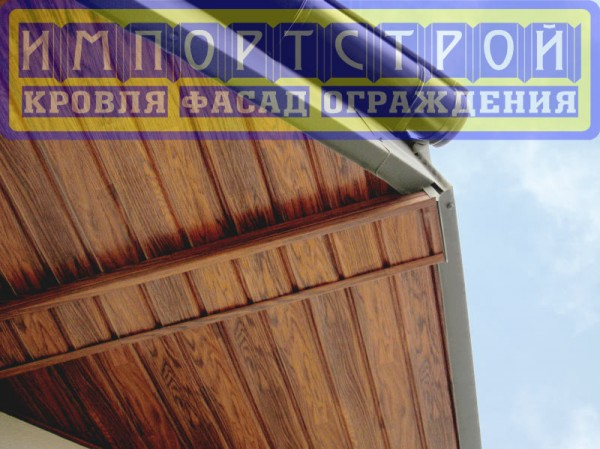 Софит Дуб Золотой Импортстрой, 3500*305(1,07м. кв)(Польша).