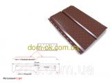 Фото  5 Софит металлический перфорированный цвет коричневый RAL 8057 МАТ 0,5 мм Германия 2565659