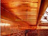 Фото  6 Софит металлический перфорированный цвет коричневый RAL 8067 МАТ 0,5 мм Германия 2665659