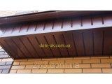 Фото  7 Софит металлический перфорированный цвет коричневый RAL 8077 МАТ 0,5 мм Германия 2765659