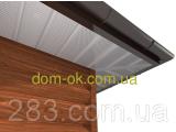 Фото  10 Софит металлический перфорированный цвет коричневый RAL 80107 МАТ 0,5 мм Германия 21065659
