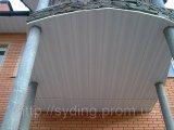 Фото  1 Софит потолочный, сайдинг для подшива, вагонка для кровли, сайдинг для крыши, монтаж софита 1756252