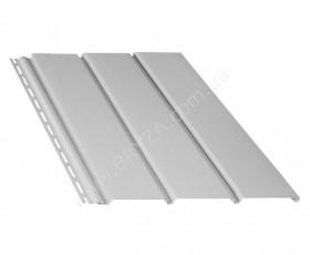 Софит (сайдинг) гладкий, цвет белый / RAL 9010, Размер: 4000 мм х 305 мм = 1.22 м. кв