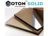 Фото 2 Монолитный поликарбонат SOTON SOLID 2-10 мм (бесцветный/бронзовый) 341645