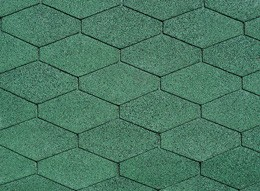 Сомоклеящаяся черепица IKO Diamant-Shield 04 Forest Green