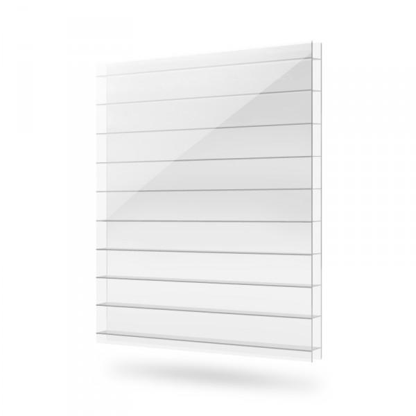 Сотовый поликарбонат 10 мм прозрачный ТМ Polygal