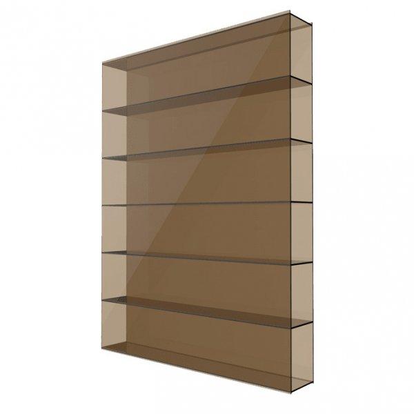 Фото  1 Сотовый поликарбонат 8мм Solidplast 1.5x3м бронзовый 1832871
