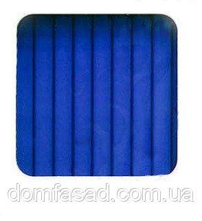 Фото  1 Сотовый поликарбонат Berolux усиленный 20, Синий 1925337