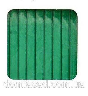 Фото  1 Сотовый поликарбонат Berolux усиленный 8, Зеленый 1925328