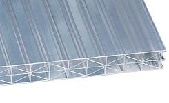 Сотовый поликарбонатный лист Sunlite прозрачный 35 мм