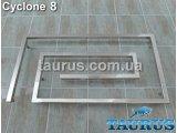 Фото  1 Сучасний полотенцесушитель Cyclone 8 / 510х900 мм, для стильного інтерєру ванної кімнати. Водяний 2396121