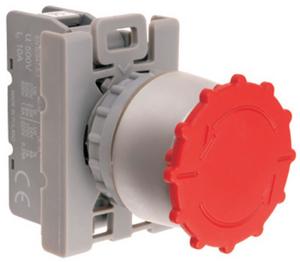 SP22-B-01 Кнопка безопасности с фиксацией- расфиксацией поворотом
