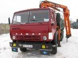 Фото 1 Оренда Самосвал с Манипулятором Atlas КАМАЗ 13 тонн 335737