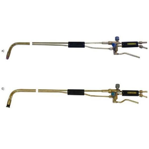 Специальные резаки РПМ ДОНМЕТ 341-10 (метан) для работы в металлургии, зачистки поверхностей пороков слитков