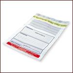 Специальный одноразовый пакет для передачи конфиденциальной информации (сейф-пакет)